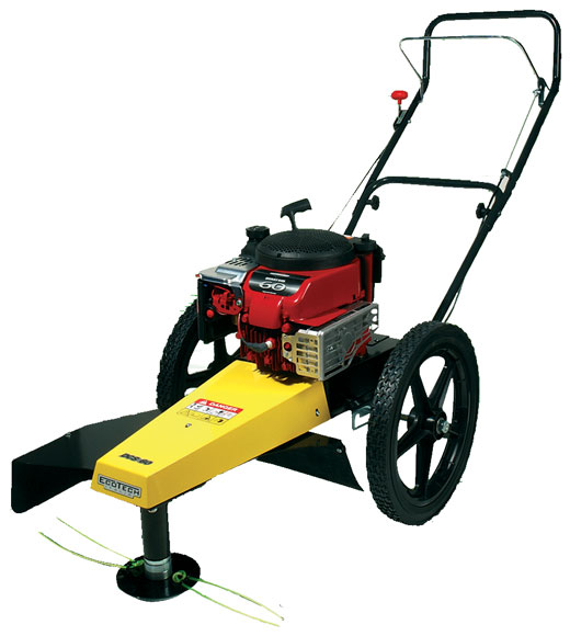 3 Brush Fires Break Out Across Front Range: Eco Garden DCS 60 Wheeled Brushcutter / Mower