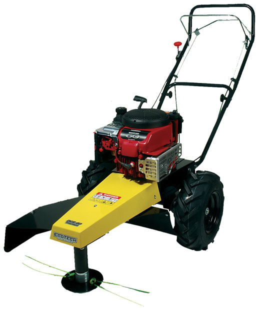 3 Brush Fires Break Out Across Front Range: Eco Garden DCS 60 Self-propelled Brushcutter / Mower
